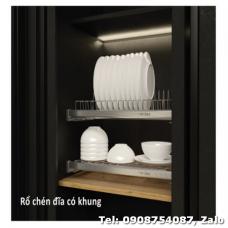 Khay úp chén đĩa Cucina 900mm loại có khung 544.40.008