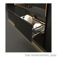 Rổ kéo để chén đĩa Cucina 900mm Inox 549.08.008