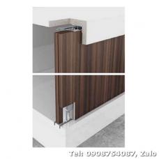 Bộ phụ kiện cửa trượt 50kg cho cửa 3 cánh dày 22-25mm 401.30.004