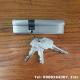Ruột khóa cửa nhôm Cmech 2 bên chìa