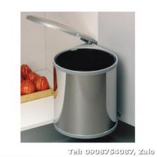 Thùng rác vỏ bằng inox Hailo Häfele 502.12.023