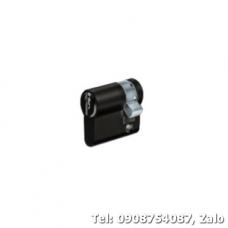 Ruột khóa 1 đầu chìa Hafele 40mm màu đen 916.63.361